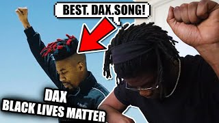 SCRU FACE JEAN Reacts To Dax - BLACK LIVES MATTER (Official Music Video)