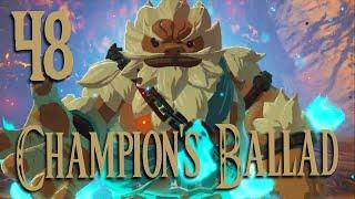 The Champion's Ballad: Daruk: The Legend of Zelda Breath of the Wild 2019 Gameplay: Part 48
