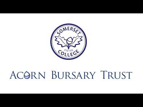 Somerset College - The Acorn Bursary Trust