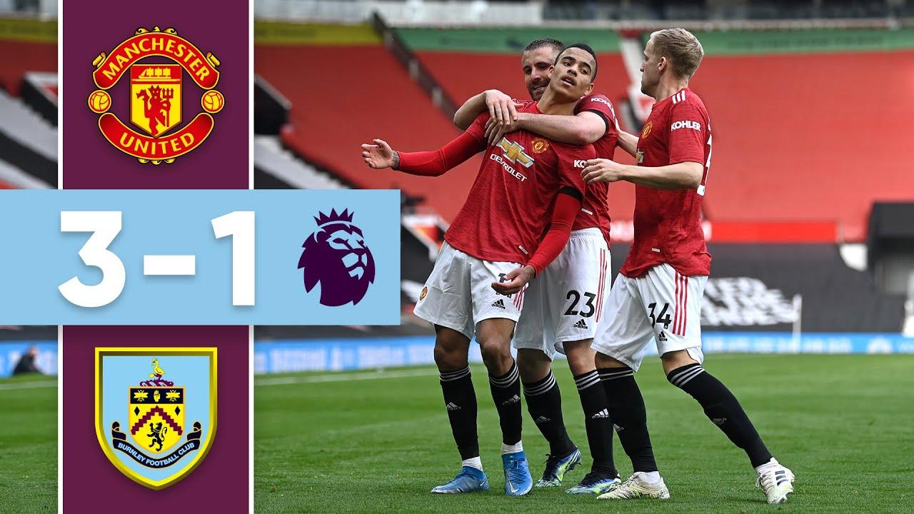 GREENWOOD & CAVANI WIN FOR UNITED | Man United v Burnley | Premier League