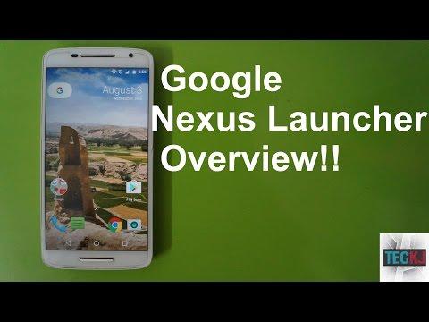 Google Nexus Launcher Features