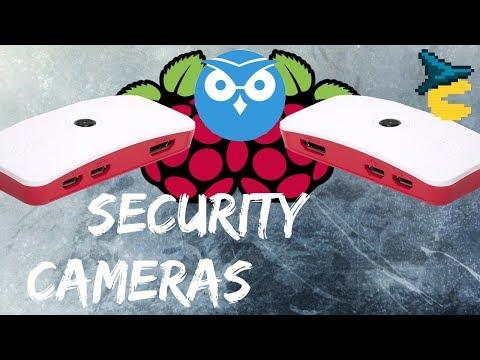 Raspberry Pi Zero surveillance cameras