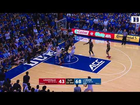 Top Plays: Duke 82, Louisville 56 (2/21/18)