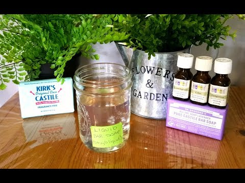 DIY Liquid Soap from Bar Soap(Stays Liquid,Non-Slimy)