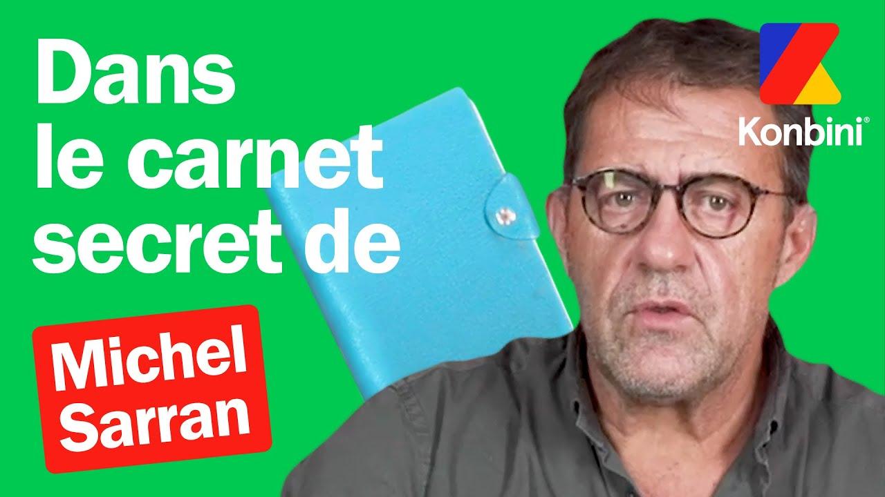 On vous dévoile le contenu ultra secret du carnet de Michel Sarran | Konbini