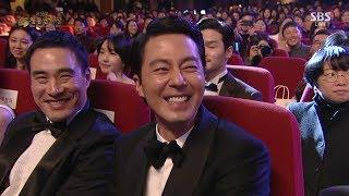 171125 [청룡영화상] 마마무 - 조인성, 부장님 말고 나랑하자 러브샷
