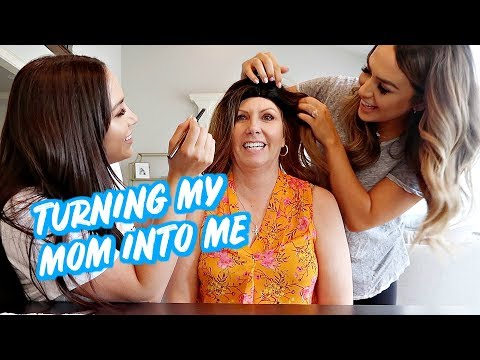 TURNING MY MOM INTO ME   ALEX AND MICHAEL