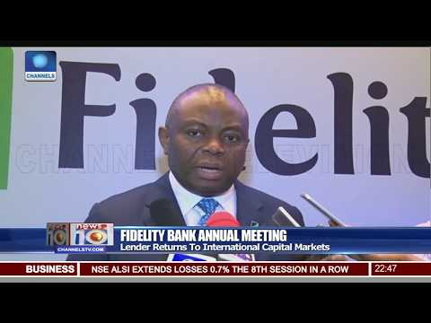 Fidelity Bank Shareholders Approve 2017 Financial Statement