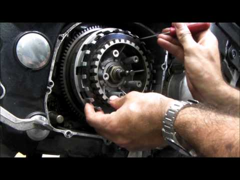 Peachy's Place: How to change clutch plates on a motorcycle