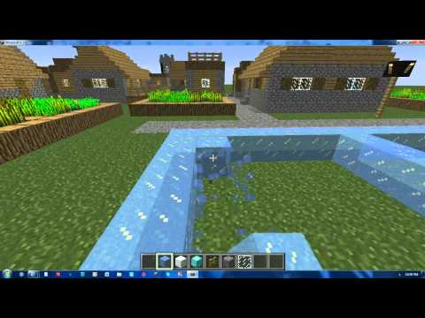 MineCraft: Building of an Ice Palace Episode #1