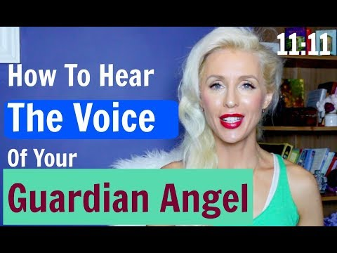How To HEAR The Voice  Of Your GUARDIAN ANGEL