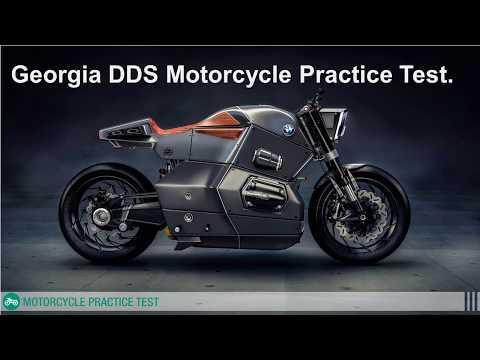 Georgia dds motorcycle permit practice test