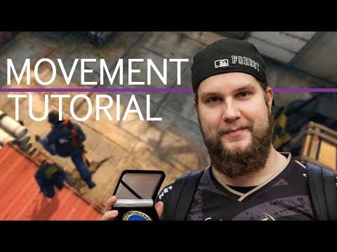 NiP f0rest | CS:GO Movement Tips and Tricks