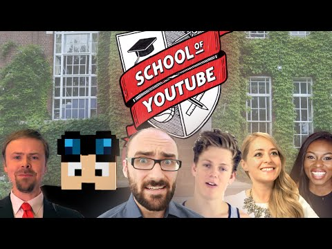 Welcome to the School of YouTube: #LaughLearnGive