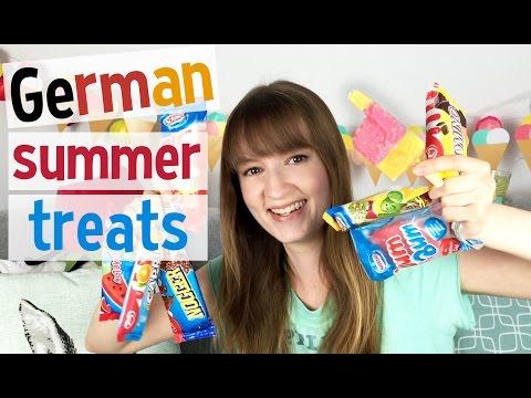 German Ice Lolly Taste Test!