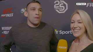 """""""I want the belt again!"""" Werdum wants UFC London victory for third title push"""