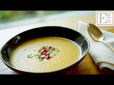 Beth's Potato, Cheddar Bacon Soup Recipe | ENTERTAINING WITH BETH