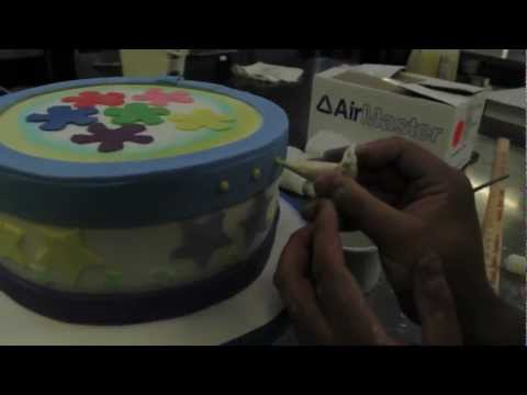 Real-life Sims 3 birthday cake!