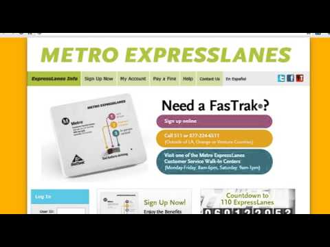 Metro ExpressLanes: Where to Get FasTrak® - Now Open