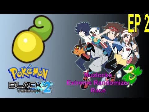 GIVE ME EASIER ENCOUNTERS!!!!! - Pokémon Black 2 Extreme Randomizer Nuzlocke Race w/ Dizzle EP 2