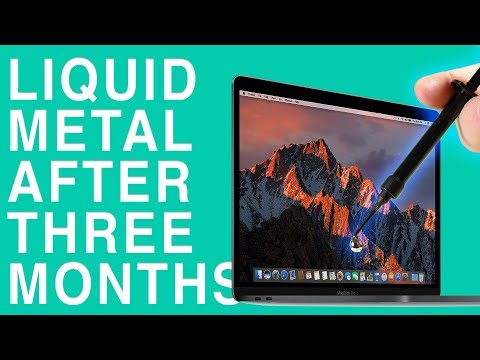 What Does Liquid Metal Look like After 3 Months Inside a MacBook Pro?