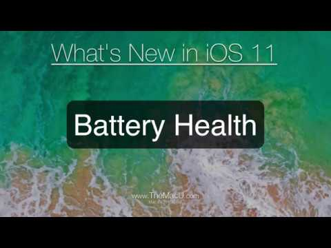 iPhone Tutorial: Battery Health in iOS 11.3 Update! Know your current battery capacity!