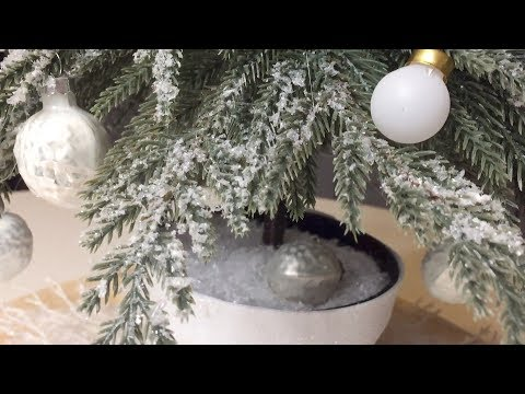 Winter Wonderland DiY Tree | Christmas decorating 2017
