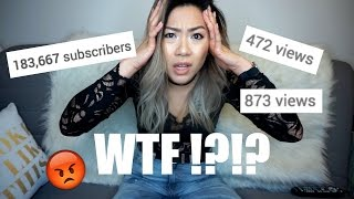 WHY ARE MY VIEWS SO LOW!?? | 183K subs but only 400 views?! WTF???
