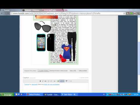 Tutorial - How to Use Polyvore on Your Tumblr RP Accounts