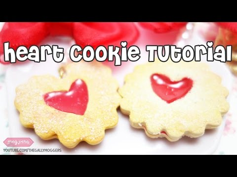 NEW! DIY Linzer Cookie Polymer Clay Tutorial - How To