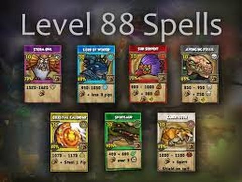 Wizard101- All Level 88 Spells