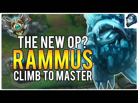 THE NEW OP JUNGLE? RAMMUS - Climb to Masters | League of Legends