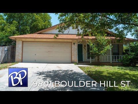 For Sale: 9801 Boulder Hill St, San Antonio, Texas 78250