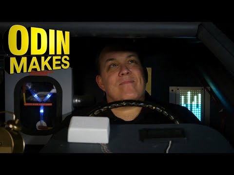Odin Makes: The inside of the DeLorean Time Machine from Back to the Future