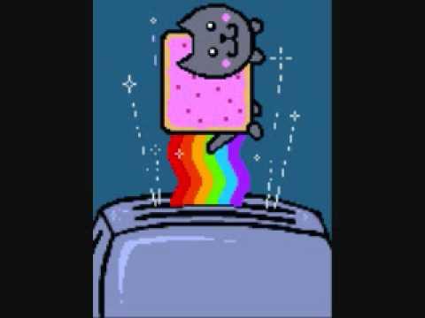Nyan/Poptart Cat remade with Organya