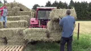 how to make grass into hay bales