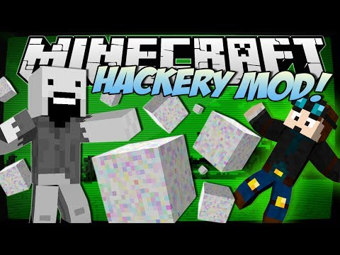 Minecraft | HACKERY MOD! (Glitches, Hacking, Cheats & More!) | Mod Showcase