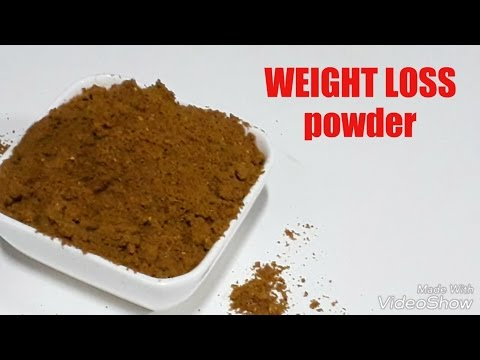 Weight Loss Powder at Home/ Slimming Powder at Home/ Fast Weight Loss Powder/ How to Make