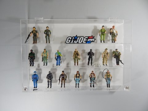 Collectors Showcase - Display case for G.I Joe, Star Wars and more