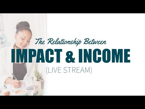 The Relationship Between Impact and Income