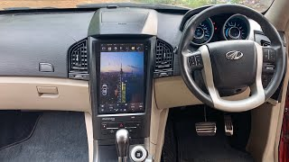 Installing Tesla Type Stereo Inside XUV 500   Mahindra XUV 500   Stereo For Cars   Tesla For SUV
