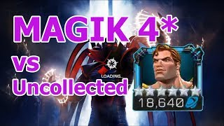 How to Intercept - Magik 4* vs Hyperion Uncollected Aspect of war MCOC | How to intercept MCOC