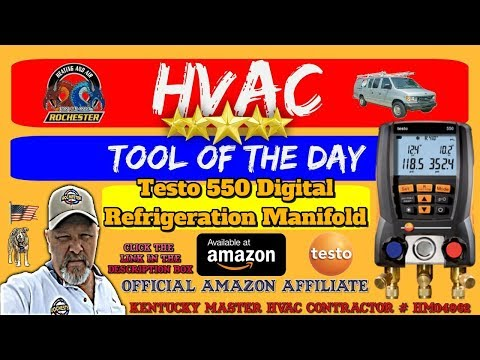 HVAC Tool of the Day / Testo 550