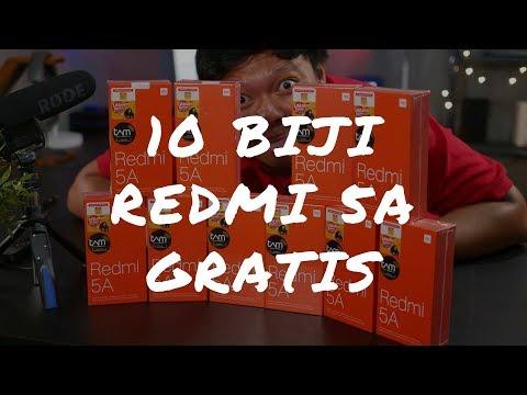 GIVEAWAY XIAOMI REDMI 5A 10 BIDJI !! (SUBSCRIBERS ONLY)