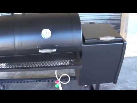 20''x48'' offset smoker by lone star grillz