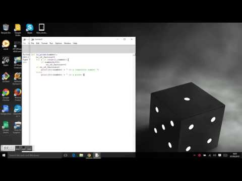 Python Programming   Prime number