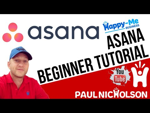 Asana Beginner Training Tutorial - How To Use Asana Project Management For Free