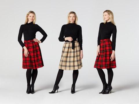 How to Make a Pleated Skirt | Teach Me Fashion