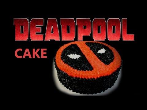 Deadpool Buttercream Cake - (Frosting Tutorial)