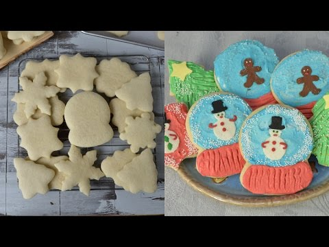 SOFT SUGAR COOKIES WITH BUTTERCREAM FROSTING, HANIELA'S